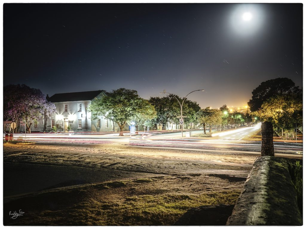 High Street by night Grahamstown 1820-2020 Heritage Photobook